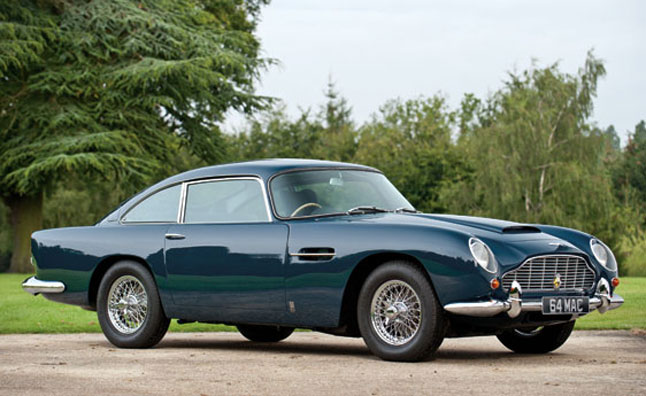 Paul McCartney's 1964 Aston Martin DB5 Headed to Auction