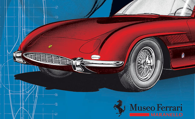 Sergio Pininfarina Ferraris Head to Museum Exhibition