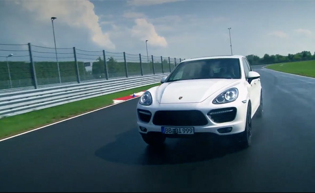 Porsche Cayenne Turbo S Takes to the Track – Video
