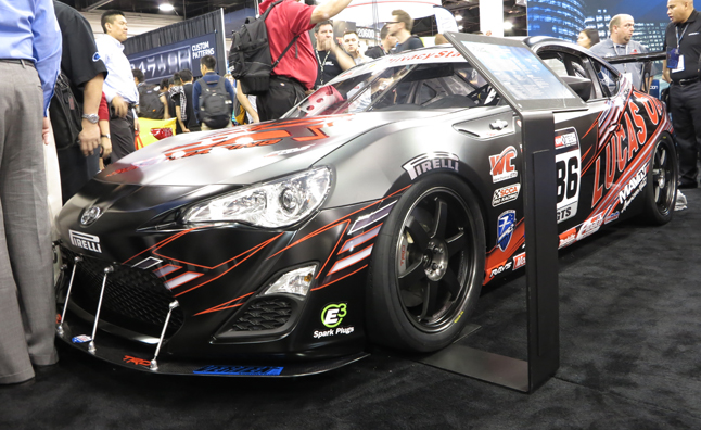 Stout Racing World Challenge Scion FR-S Revealed: 2012 SEMA Show