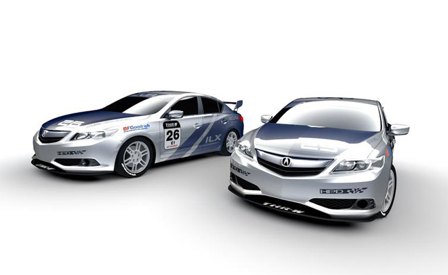 Acura ILX Race Cars Head to 2012 SEMA Show