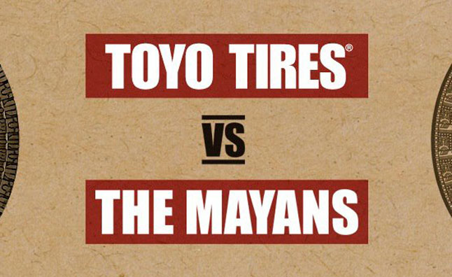 Toyo Tires Takes on Mayan Doomsday in New Contest