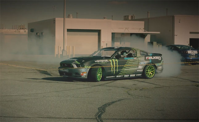 Vaughn Gittin Jr. Tears Up Ford's Flat Rock Plant – Video