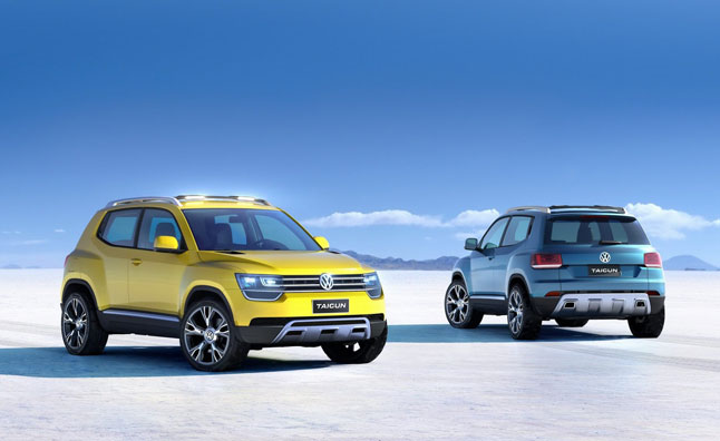 Volkswagen Taigun Previews Up! Based Crossover