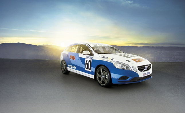 Volvo V60 Racing Wagon Unveiled