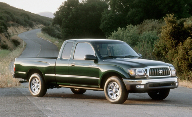 Toyota Tacoma Recalled for Faulty Spare Tire Bracket