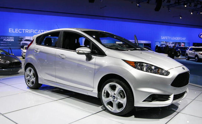 2014 Ford Fiesta ST is America's Newest Hot Hatch: 2012 LA Auto Show