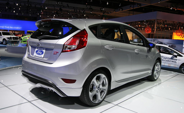 2013 Ford Fiesta ST Video, First Look: 2012 LA Auto Show