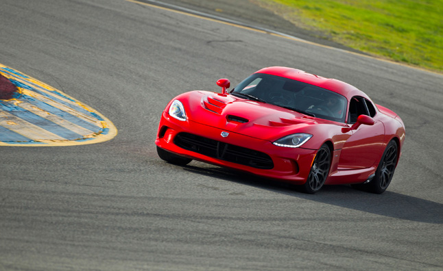 2013 SRT Viper Poses for the Camera Again… and Again