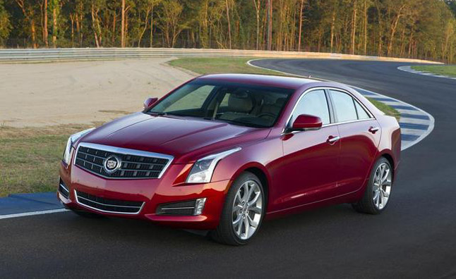 Cadillac ATS Wins Motor Press Guild Vehicle of the Year