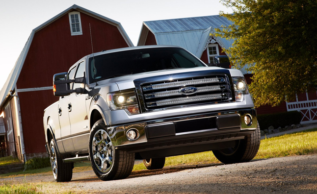 2013 Ford F-150 Takes Top Marks From IIHS