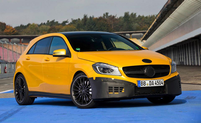 2013 Mercedes A45 AMG Teased in Photos