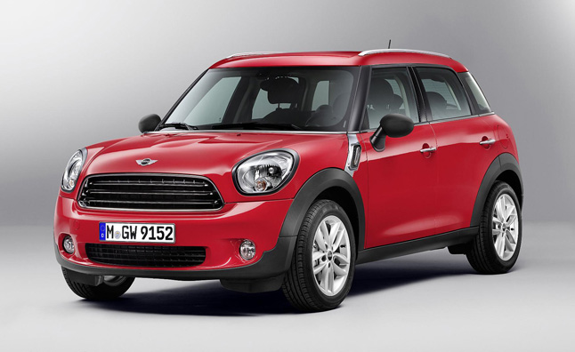 2013 MINI Countryman Heading to 2012 LA Auto Show