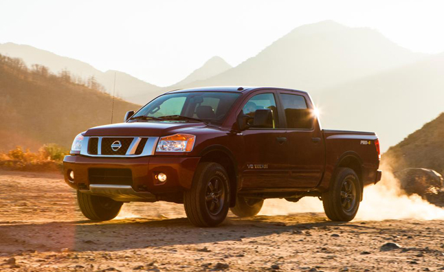 2014 Nissan Titan Coming as Redesigned Truck