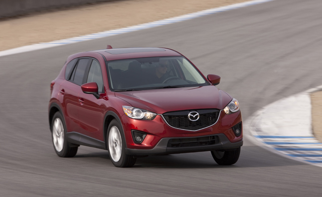 2014 Mazda CX-5 Gets a Power Boost: 2012 LA Auto Show