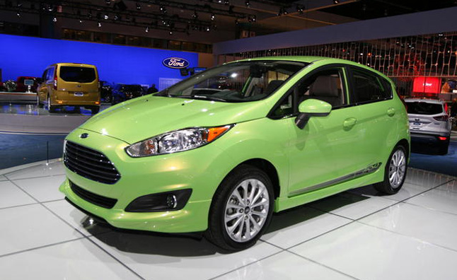 2014 Ford Fiesta Restyled, Gains Tiny 3-Cylinder Engine: 2012 LA Auto Show