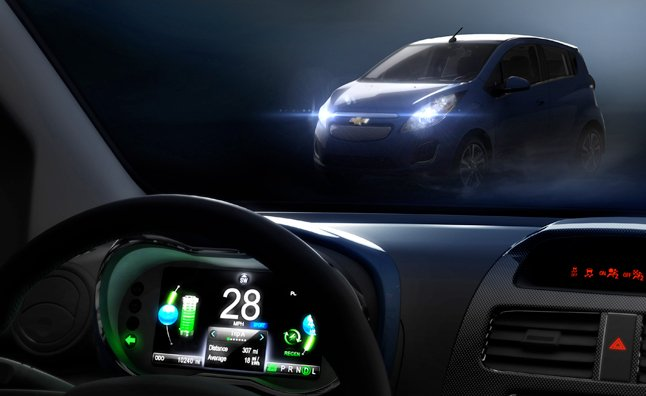 2014 Chevy Spark EV Heading to Los Angeles for Debut