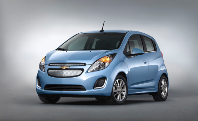 2014 Chevrolet Spark EV Unveiled Ahead of LA Auto Show Debut