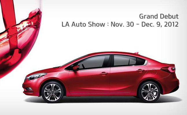 2014 Kia Forte Confirmed for LA Auto Show Debut