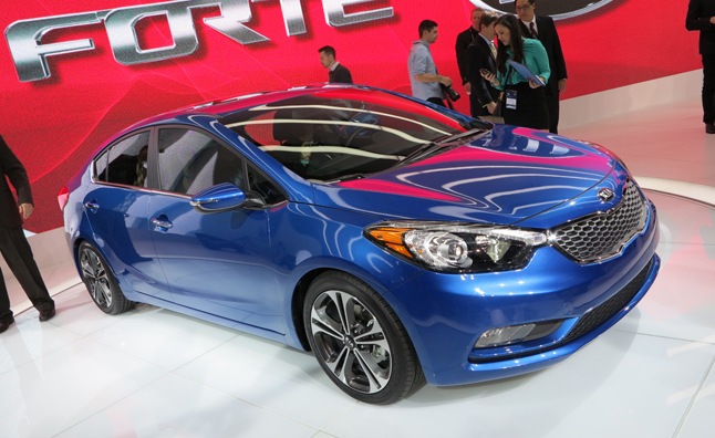 2014 Kia Forte Gets a Swoopy New Look: 2012 LA Auto Show