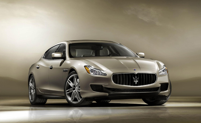 2013 Maserati Quattroporte Gets Turbo V6, Twin Turbo V8
