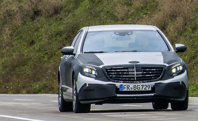 2014 Mercedes S-Class to Feature All New Tech
