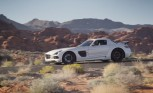 2014 Mercedes SLS AMG Black Series Rockets Through Desert