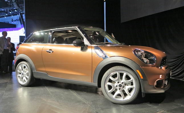MINI Paceman is a Sports Activity Coupe for America: 2012 LA Auto Show
