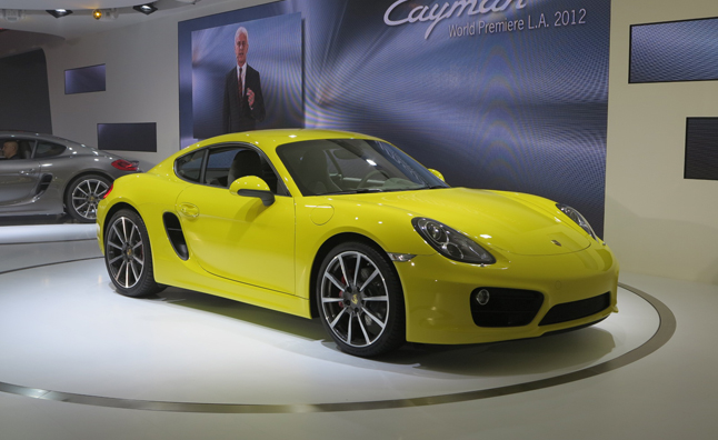 2014 Porsche Cayman Revealed With Last-Gen 911 Performance