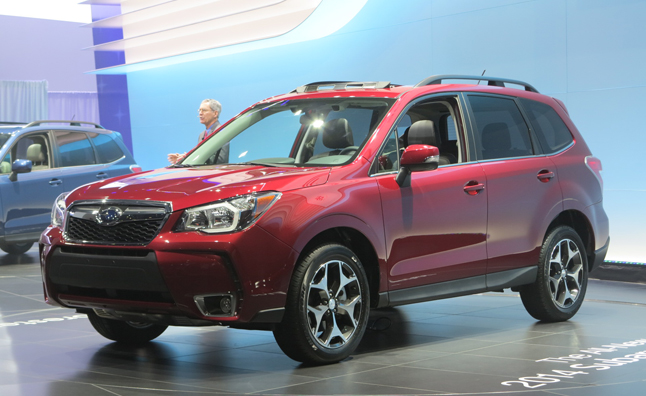 2014 Subaru Forester Bows at LA Auto Show