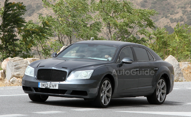 2014 Bentley Continental Flying Spur to Get More Sporty Look