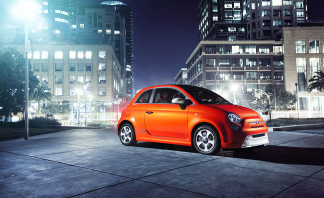 Fiat 500e Photos Revealed: 2012 LA Auto Show Preview