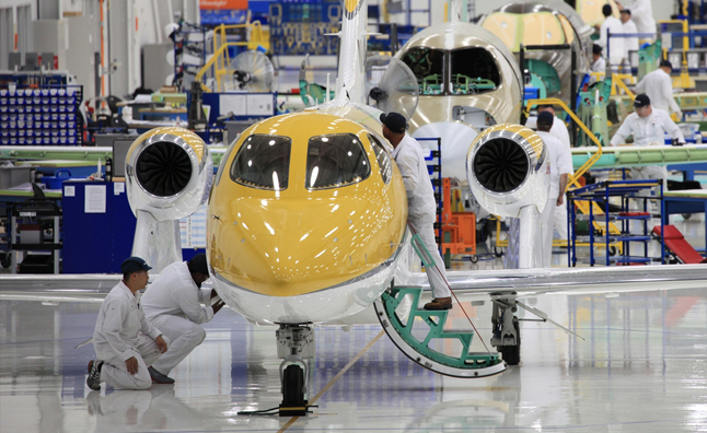 Honda Begins Production of New HondaJet Aircraft