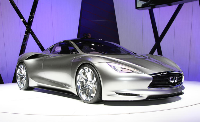 Infiniti to Launch Hybrid Sports Car Within Three Years