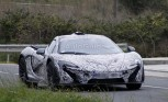 McLaren P1 Caught Testing in Spy Photos