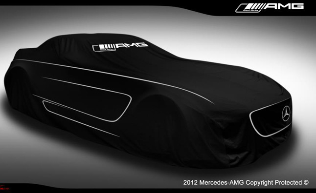 Mercedes-Benz SLS AMG Black Series Teased?