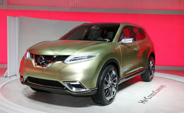 2014 Nissan Rogue Sneek Peak: 2012 LA Auto Show Preview