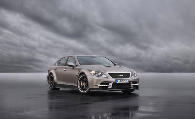 Lexus LS Based TMG Sports 650 Concept Unveiled