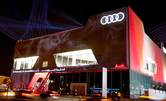 Audi Dealer in Dubai Almost Size of Two Football Fields