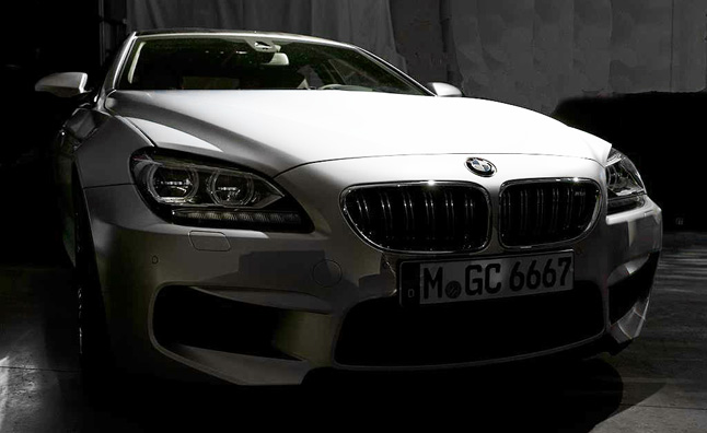 BMW M6 Gran Coupe Teaser Photos Released