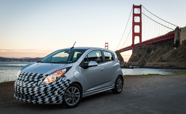 2014 Chevrolet Spark EV to Go Fast, Charge Faster