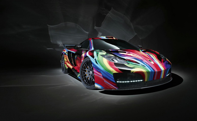 Hamann McLaren MP4-12C memoR Painted Like Lollipop