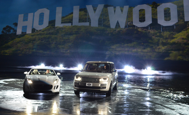Jaguar F-Type, Range Rover Make US Debut: 2012 LA Auto Show