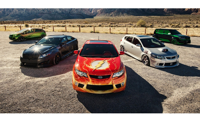 Kia Justice League Concepts Unveiling at SEMA – Video