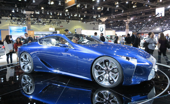 Lexus LF-LC Blue Concept Lands in North America: 2012 LA Auto Show