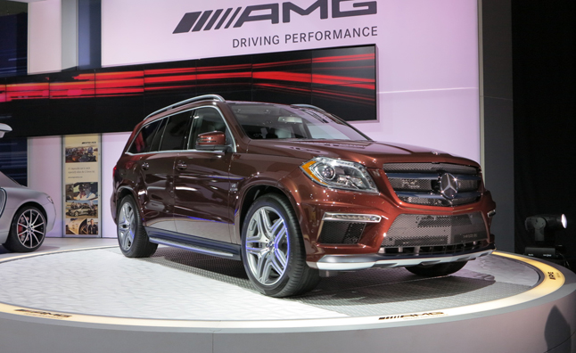 Mercedes-Benz GL63 AMG is the Ultimate SUV: 2012 LA Auto Show