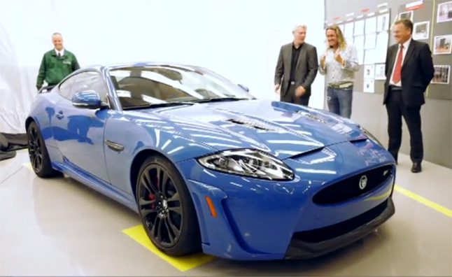 Iron Maiden Drummer Nicko McBrain Takes Delivery of Custom Jaguar XKR-S