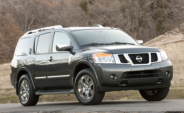 2013 Nissan Armada Pricing From $40,710