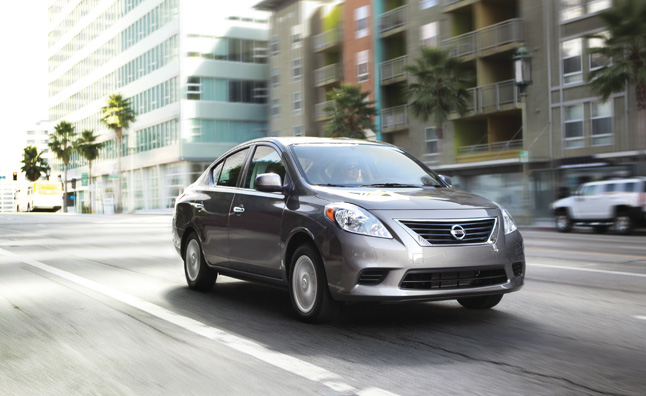 2013 Nissan Versa Priced at at $11,990, Still has Lowest MSRP