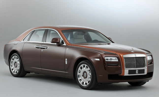 Rolls-Royce Ghost gets Arabian Nights Themed Model